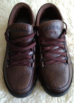 Ботинки klepper кожаные, треккинговые