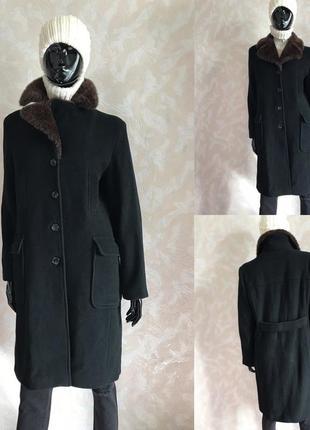 Шикарное пальто холодная осень/еврозима м/л