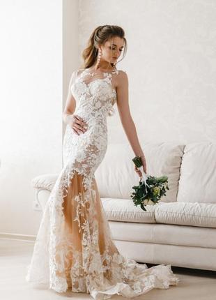 Свадебное платье невенчаное