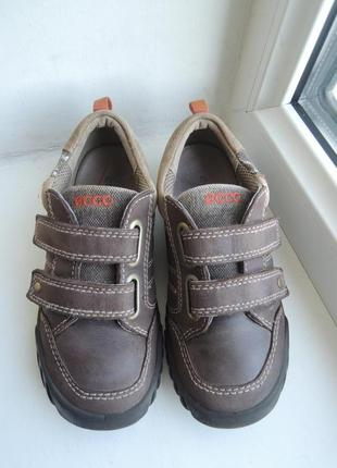 Кожаные туфли кроссовки ecco р.30-31