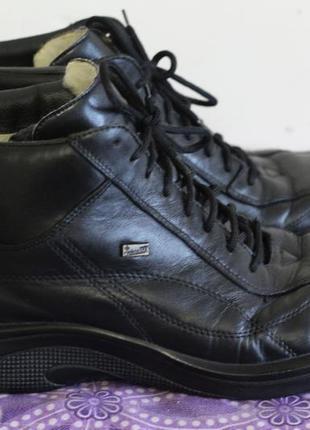 Кожаные ботинки на утеплителе rieker tex германия