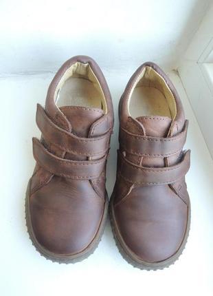 Кожаные туфли кроссовки bogi (португалия) р.28