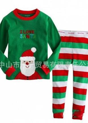 Пижама детская новогодняя