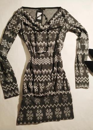Платье в скандинавском стиле фирмы zean