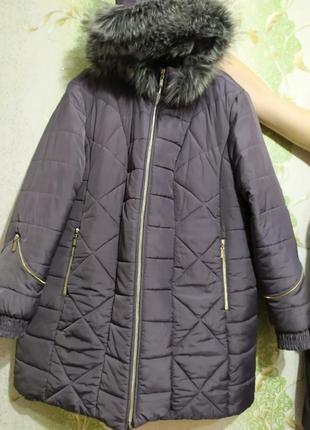 Зимняя куртка огромного размера