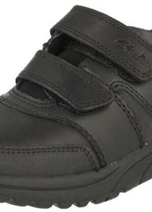 Кожаные туфли clarks jack spring