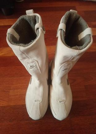 Замшевые ботинки nike air, 40.5 рр. оригинал