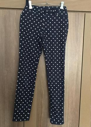 Стильные хлопковые штаны - джеггинсы children's place, р. 152, 12 лет