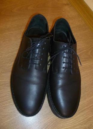 Туфли кожаные от cos на платформе