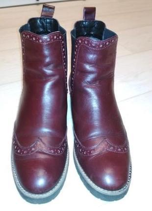 Брендовые ботинки оксфорд 5-th avenue