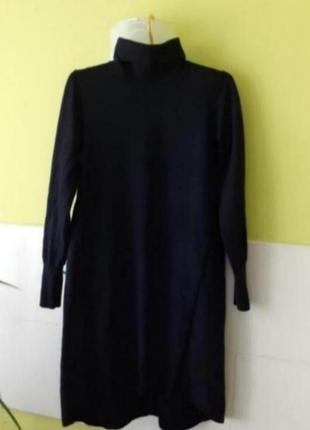 Теплое шерстяное платье свитер гольф от hobbs