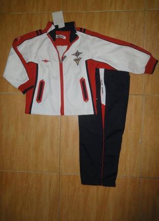 Спортивный костюм двухслойная ткань на сетке кофта штаны