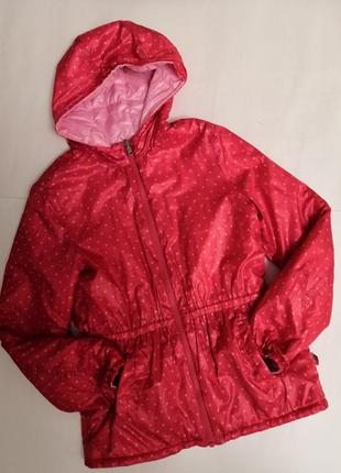 Брендовая курточка united colors of  benetton двусторонняя на 11-12 лет, рост 160 см