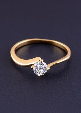 Кольцо 'xuping' фианит (позолота 18к) 0821290