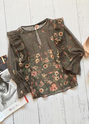 Красивейшая блуза от zara