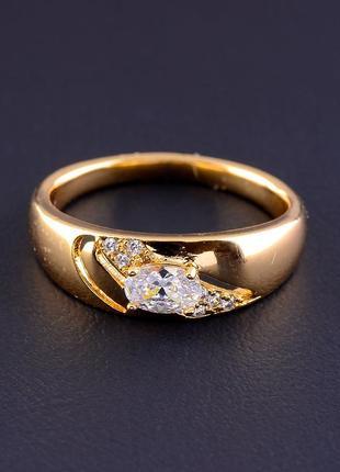 Кольцо 'xuping' фианит (позолота 18к) 0821320