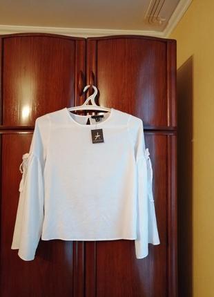 Модная блуза atmosphere, 100% хлопок, размер 10/38, новая с этикеткой