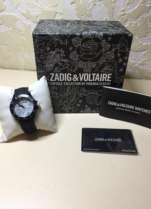 Наручные стильные женские часы zadig & voltaire #time2zadig оригинал