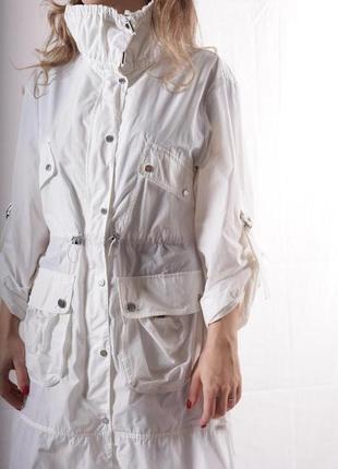 Karen millen плащ оригинал белый стильный