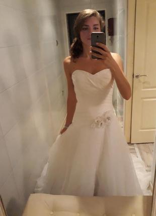 Свадебное платье натуральный шёлк