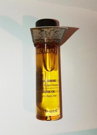 Caudalie масло divine oil 15ml