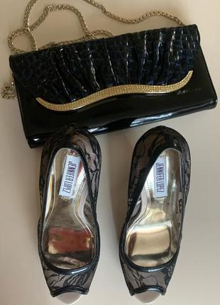 Восхитительные ажурные туфли р 36