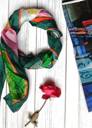 """Платок для истинных ценителей искусства шёлк платок beyeler """"утки"""""""