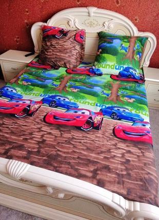 Детское постельное белье из бязи тачки макквин