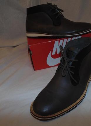 Ботинки туфли челси натуральная кожа guess оригинал