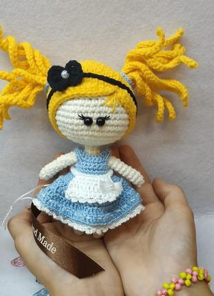Брелок куколка ручной работы