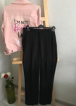 Шерстяные брюки/высокая посадка