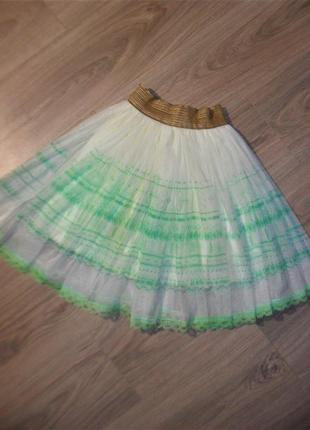 Нарядная юбка на 9-12лет