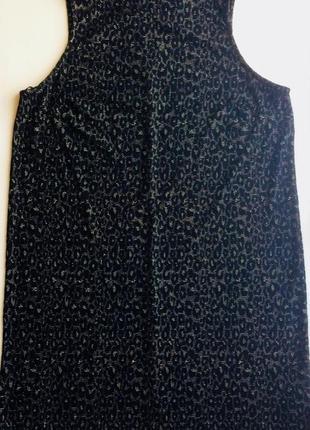 Нарядное трикотажное платье-трапеция papaya, без рукавов, размер 52/18