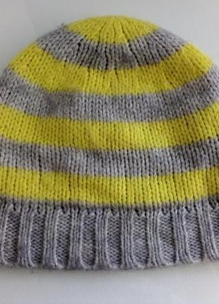 Стильная шапочка на подкладке