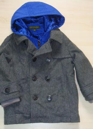 Зимнее пальто 3-4года
