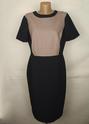Платье футляр красивое стильное marks&spencer uk 14/42/l плаття сукня