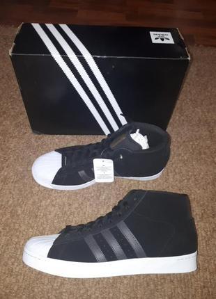 Замшевые кеды adidas 11.5
