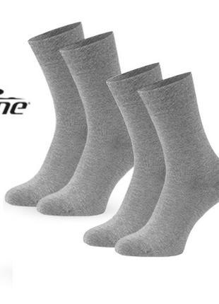 2 пары мужские носки 42-43 релакс, хлопок, германия