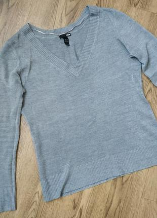 Пуловер джемпер свитер женский базовый