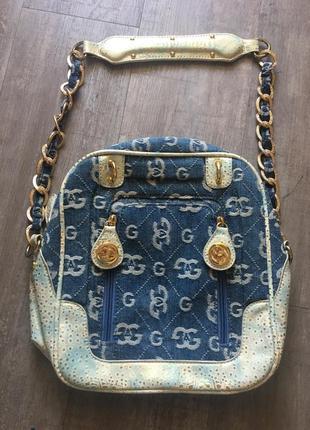 Джинсова сумочка gag з вишукаю фурнітурою