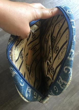 Джинсова сумочка gag з вишукаю фурнітурою3 фото