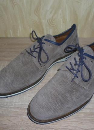 Кожаные туфли lloyd (ллойд) 43р