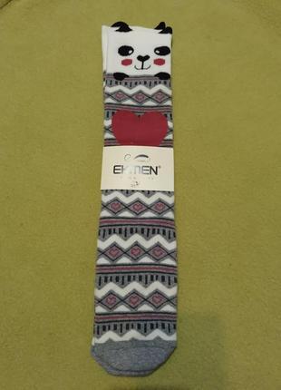 Носки теплые махровые новогодние махра теплі махрові новорічні