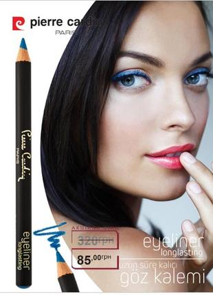 Стойкий карандаш для глаз pierre cardin / синий / есть цвета