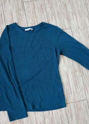 Базовый лонгслив, футболка, реглан