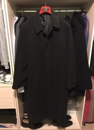 Пальто шерстяное hugo boss оригинал