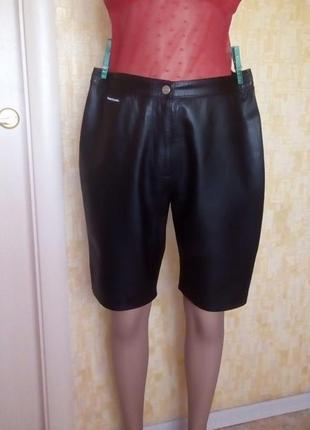 Германия! брендовые крутые шорты из 100 % мягкой кожи/шортики/кожаные шорты/шорты/ брюки