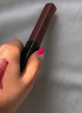 Тестер пробник блеск помада chanel rouge coco lip blush 420 burning berry 420