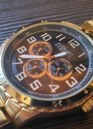 Часы august steiner (сша) японский механизм