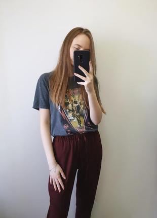 Бордові штанці
